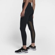 These tights are great for keeping you cool and dry during a workout. #gymclothes #drifit