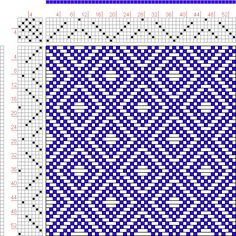 Hand Weaving Draft: Page 131, Figure 22, Donat, Franz Large Book of Textile Patterns, 7S, 7T - Handweaving.net Hand Weaving and Draft Archiv...