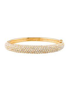 Christian Dior Crystal Bangle