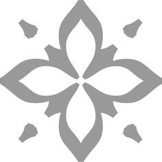 "Centaur Flower Ornament as used in Mardersteig's ""Le Favole di Esopo"""