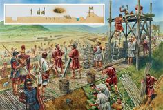 THE ROMAN SIEGEWORKS AT ALESIA