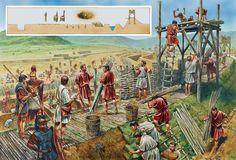 THE ROMAN SIEGEWORKS AT ALESIA