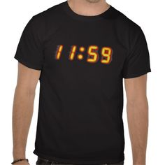11:59 :- Ideal for T-shirt for New Years Eve, lunch breaks, creatures of the night and Blondie enthusiasts. #newyear #countdown #time #digitalnumbers #numbers #hours #minutes #novelty #different #relativity #midnight #newyearseve #clock #digitalrealism