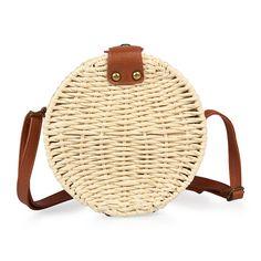 Milk Straw Round Bag - Bags   YDE Milk Straws, South African Fashion, Round Bag, Straw Bag, Finding Yourself, Footwear, Bags, Handbags, Shoe