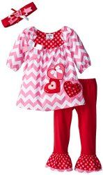 Adorable outfit for your favorite little girl for Valentine's Day