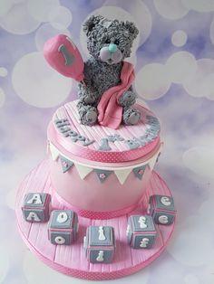 Teddy bear 1st birthday. by Jenny Dowd