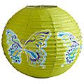 Butterfly Paper Lantern  Thinking of backyard decorations