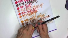 Tombow Dual Brush Pen Swatches
