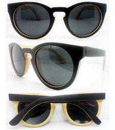 Retro two tone bamboo polarized sunglasses Trend Accessories, Polarized Sunglasses, Bamboo, Retro, Polarised Sunglasses, Retro Illustration, Mid Century