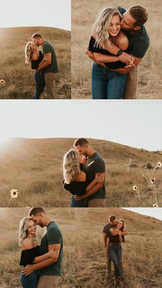 Boise Foothills Engagement Session Idaho Wedding Photographer Summer Engagement Session Sunflower field engagement photos Outfit Inspo for couples Couples Posing Ideas Couples Photos Carrie Rogers Photography Traveling Wedding Photographer couples love -