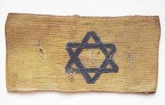 Jewish Holocaust WW2 Ghetto Armband w Yellow David Star croatia Dachau Camp | eBay