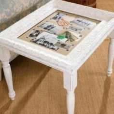 Are you looking for ways to use old picture frames that have become outdated or worn? You know, you've taken old graduation pictures out of frames...