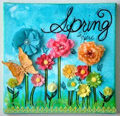 spring... I am gonna use this with my quilling for scrapbooking