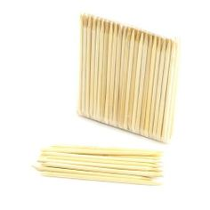 """ThinkBamboo Disposable Bamboo Manicure Sticks/Cuticle Pushers 11cm (4.25"""") 4mm (5/32"""") X 100pc Bag by ThinkBamboo - Beauty. $7.88. These sticks are made from high quality bamboo, and are much more resistant to cracking, splitting and splintering than wooden sticks. Each measures approx 11cm (4.25"""") long with 4mm (5/32"""") diameter. Hygenic and disposable after each use. Manicure sticks have a flat end for pushing cuticles back, and a pointed end for cleaning under ..."""