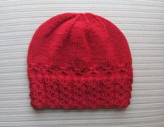 Hat Holly in Size Adult Knitting pattern by Yelena Chen Beanie Knitting Patterns Free, Loom Knitting Stitches, Free Knitting, Baby Knitting, I Love This Yarn, Poncho, Fair Isle Knitting, Knitted Hats, Easy