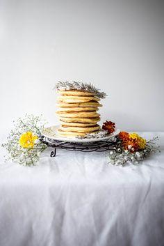 Orange Blossom, Rosemary and Ricotta Hotcakes