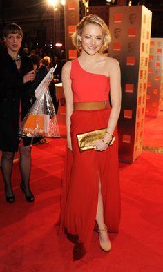emma stone. love this dress