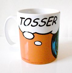 'Tosser' Proper London Mug