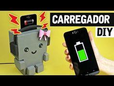 DIY - Robot CARGADOR de la célula / SOPORTE - YouTube