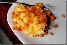 """My husband requested """"party potatoes"""" when I asked him if he had any requests for Easter dinner...lo and behold, the internet indeed had such a recipe!"""
