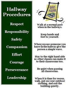 1 of rules and procedures handouts so students know what to expect and what you expect. Include in parent packet at Open House so parents get a copy. Helps maintain classroom control at the get-go. Classroom Routines, Classroom Procedures, Classroom Rules, Classroom Behavior, Classroom Posters, Behavior Management, Classroom Management, Class Management, Beginning Of School