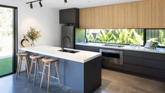 Gallery Of Balgownie By Dayne Lawrie Constructions Local Australian Design And Interiors Peregian Springs, Qld Image 24 - The Local Project Contemporary Architecture, Interior Architecture, Küchen Design, House Design, Interior Styling, Interior Design, Golf Tips, Modern Lighting, Home Kitchens
