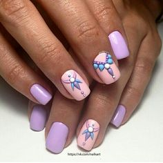It's not nails, but it is lovely & that is what can be said look at this manicure.