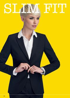 Slim Fit for ladies#workuniformsdirect #uniform #corporate #business #fashion