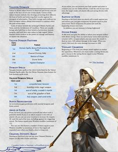 Dungeons And Dragons Races, Dungeons And Dragons Classes, Dungeons And Dragons Characters, Dungeons And Dragons Homebrew, Dnd Characters, Fantasy Characters, Dnd Cleric, Paladin, Cleric Domains