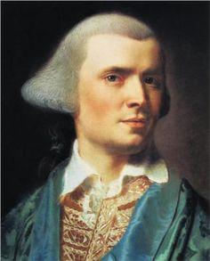 John Singleton Copley's self portrait in pastels