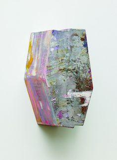 Elisabeth Vary 2010, Ölfarbe auf Karton 24 x 14 x 12,5 cm