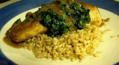 Chicken Florentine recipe served at Blue Bayou in Disneyland