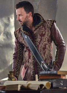 King Laertes of Laurencia the wardrobe on this show alone makes it worth watching.