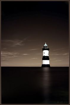 Penmon Point Lighthouse Black Point, Wales