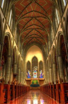 ˚Christ Church Cathedral Interior: Victoria B.C