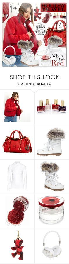 """""""Embracing Winter"""" by elena-777s ❤ liked on Polyvore featuring New Look, Ciaté, Dooney & Bourke, Tecnica, Falke, Kenzo, Burberry, Frends, STOW and 2017"""