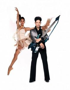 Misty Copeland and Prince.