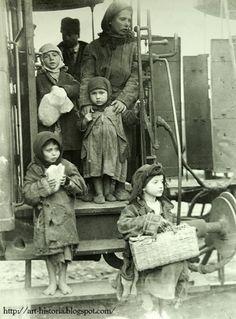 bucharest, 1929; peasant homeless