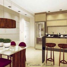 """""""C o z i n h a s . . . ♡  #maisuma #archlovers #arquitetura #decoração #designinteriores #decor #decorate #decorating #decorlovers #interiores…"""" - http://www.fernanndaarquiteta.com/"""