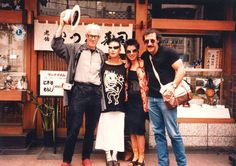 #FBF: 1984 SUE WONG WITH ARTIST FRIENDS IN #TOKYO:  am pictured here with my artist friends Jayme Odgers and Peter Lodato as well as Gal pal Loretta Leong on a FUN trip to Tokyo. We had a great time in #Japan, proceeding via bullet train from Tokyo to Kyoto. We then proceeded onward to #HongKong , the height of commerce and the antithesis of Kyoto. This was indeed a #trip that is indelible and filled with #memories of great celebrations and #friendship.