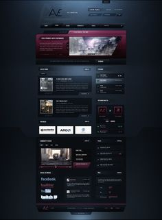 AvE Gaming by Crelcreation on deviantART #webdesign