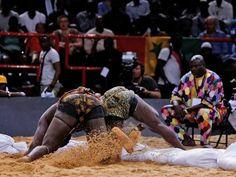 La lutte sénégalaise au Palais Omnisport de Paris-Bercy - SenegalVision Galerie…