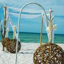 Great idea for beach wedding decor