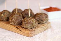 Beef and Quinoa Meatballs...gluten-free, low carb, and low calorie!