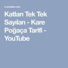 Katları Tek Tek Sayılan - Kare Poğaça Tarifi - YouTube