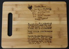 Laser-Engraved Cutting Board