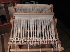 Warping a RH loom