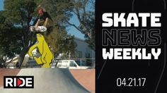 Skate News Weekly 4.21.17 – Skating in Diapers, Vert Attack – Collabs Galore & More – RIDE Channel: Source: RIDE Channel