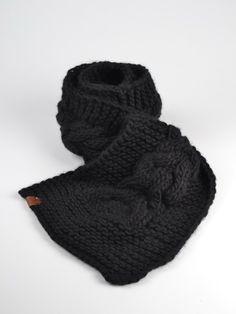 Granny's Finest Sjaal Teun Zwart - Sjaals
