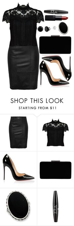 """Untitled #3264"" by natalyasidunova ❤ liked on Polyvore featuring Alice + Olivia, Christian Louboutin, John Lewis, NYX and NARS Cosmetics"